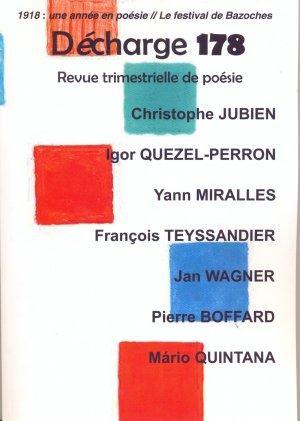 """""""Âprès"""" de Yannick Torlini dans la revue """"Décharge"""""""