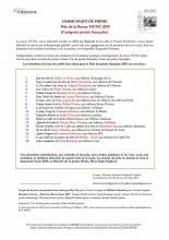 Sans adresse de Pierre Vinclaire sélectionné pour le Prix de poésie de la revue NUNC