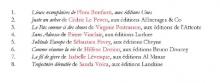 Sans adresse de Pierre Vinclair dans la deuxième sélection du Prix NUNC